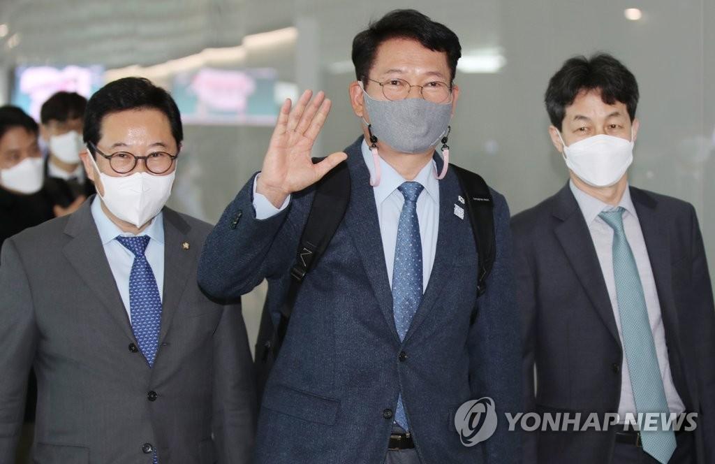 韓執政黨議員團訪美會見美副國務卿比根