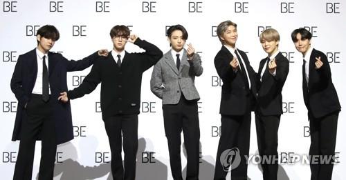 詳訊:防彈少年團新輯《BE》登頂公告牌專輯榜