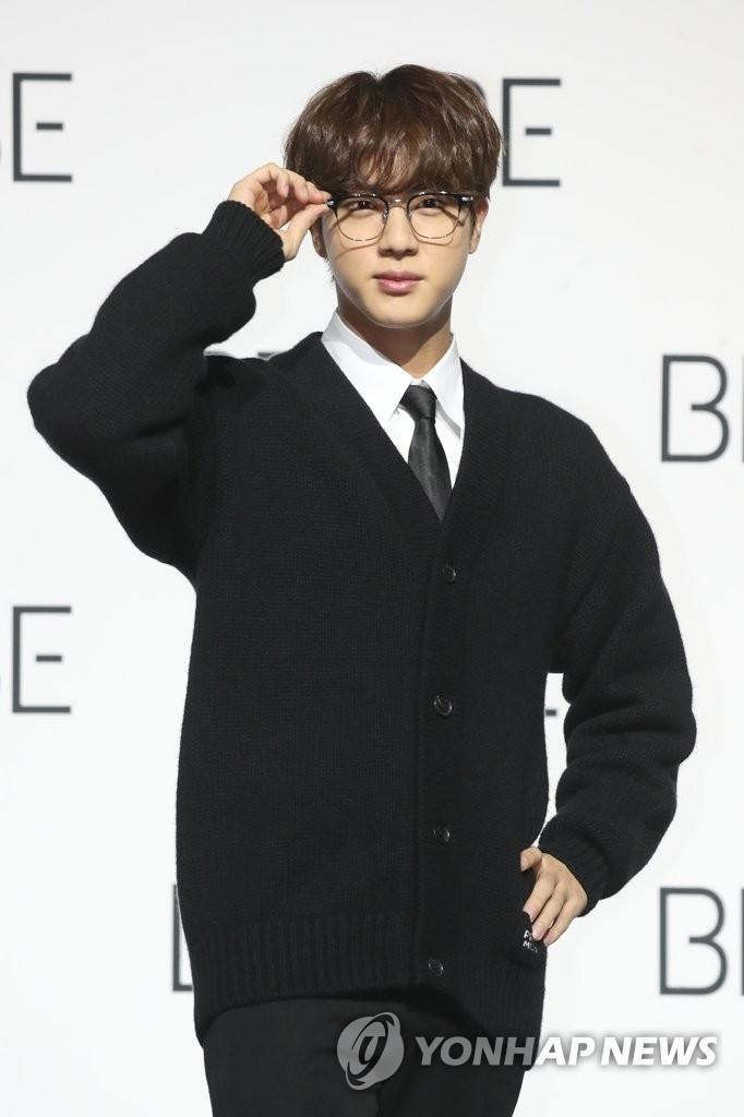 防彈成員Jin重申將依法服兵役
