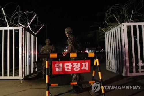 韓軍全面提升部隊營內防疫響應級別