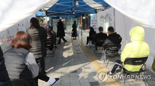 韓政府預測單日新增病例本週或持續超400例