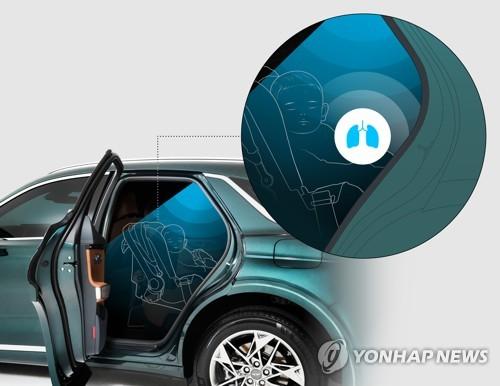 捷尼賽思SUV後排乘客警示系統