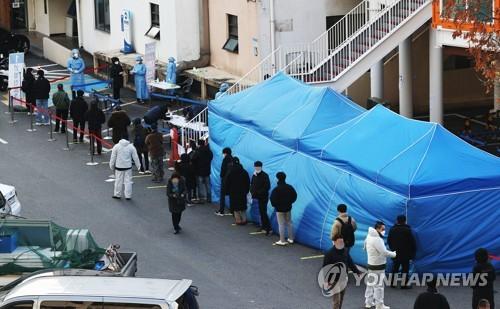 韓政府擬本週日決定是否上調防疫級別