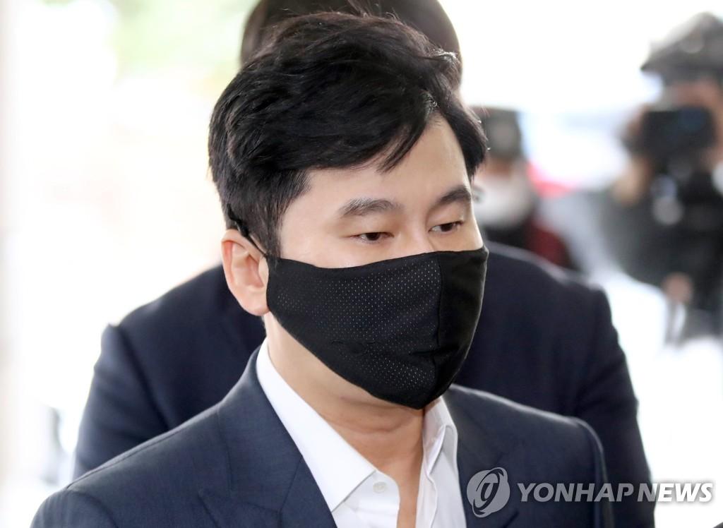 YG娛樂前代表梁鉉錫涉嫌恐嚇被提起公訴