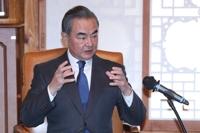 中國外長王毅結束訪韓啟程回國
