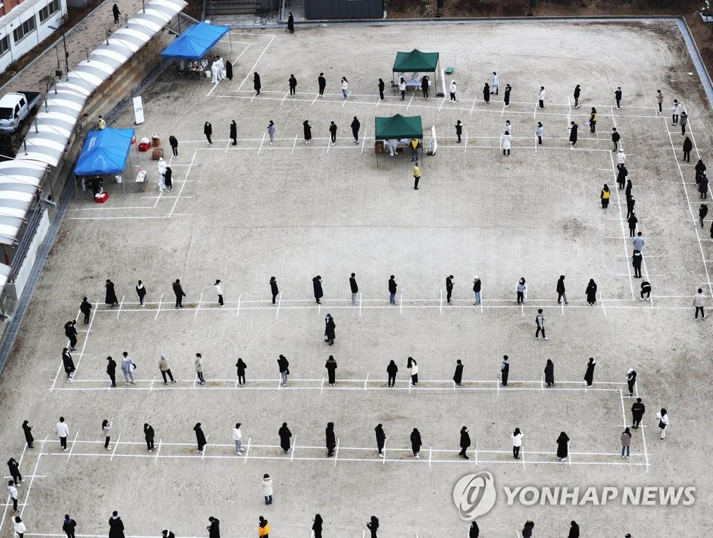 詳訊:南韓新增504例新冠確診病例 累計33375例