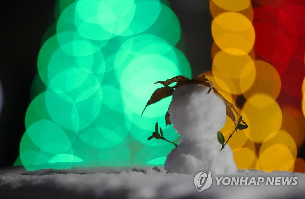資料圖片:雪人 韓聯社