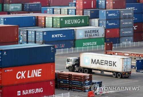 南韓4月前10天出口同比增24.8%