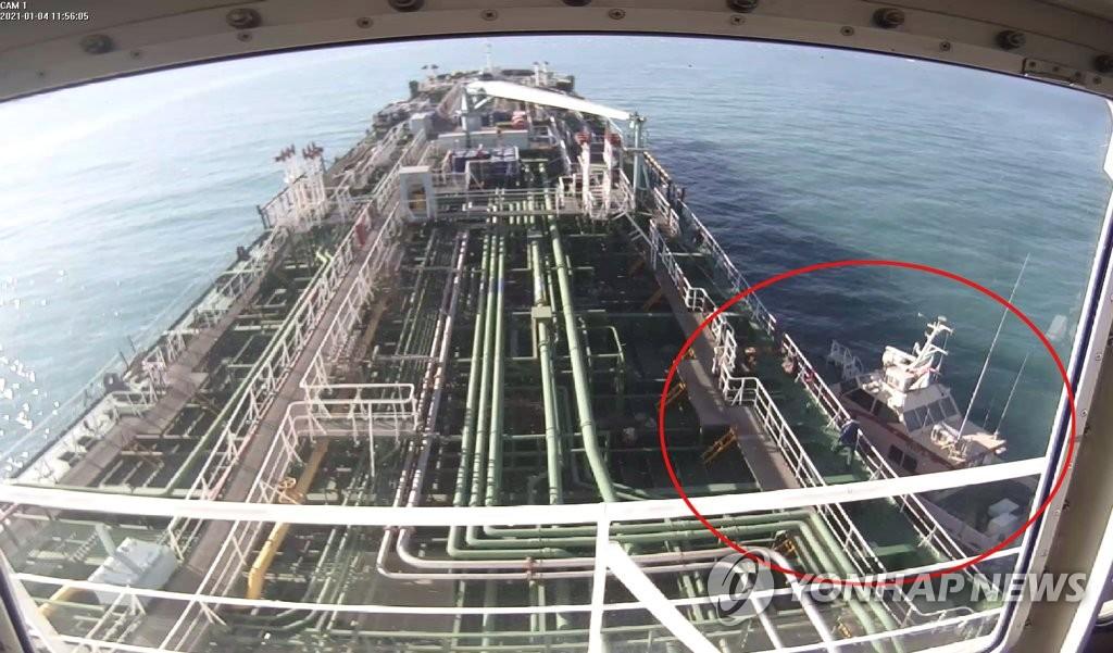被扣韓船船東:獲釋船員實際上難棄船離伊