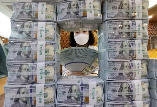 韓今年2月外儲4475億美元再創新高
