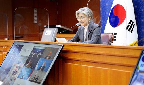 韓外長:將同拜登政府攜手推動韓半島和平