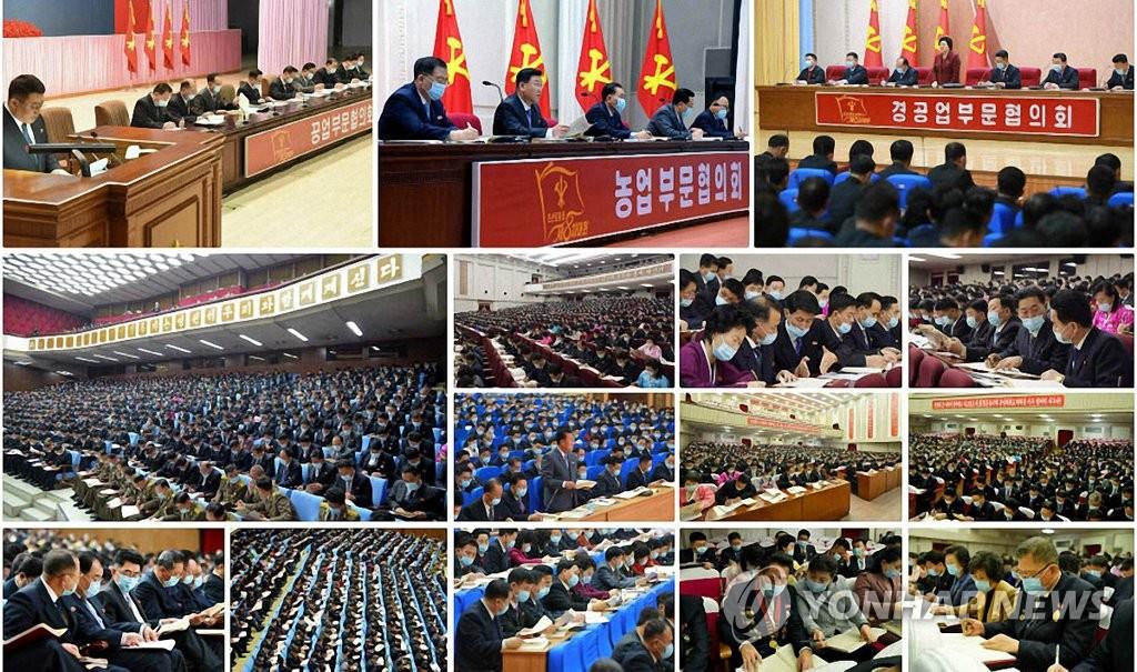 朝鮮勞動黨八大各部門研究決定書草案