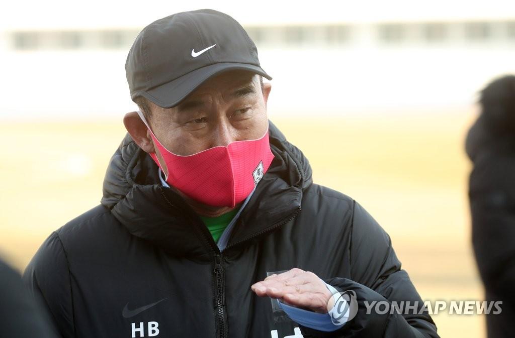 南韓國奧隊主教練金鶴范 韓聯社