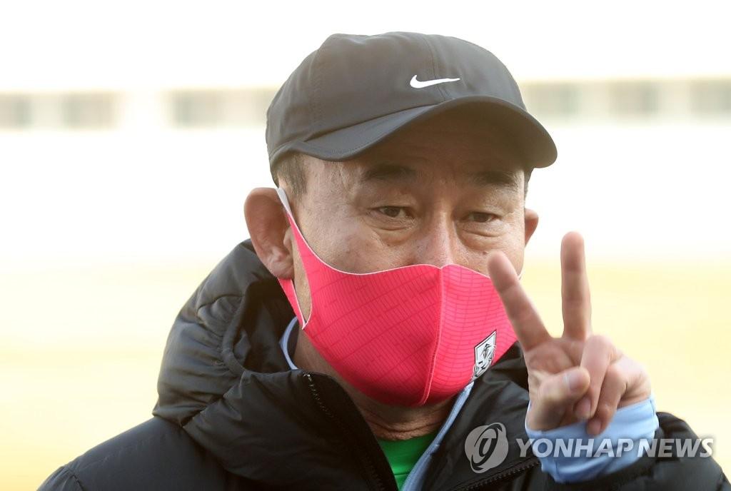 南韓國足主帥:期待東京奧運會創造歷史