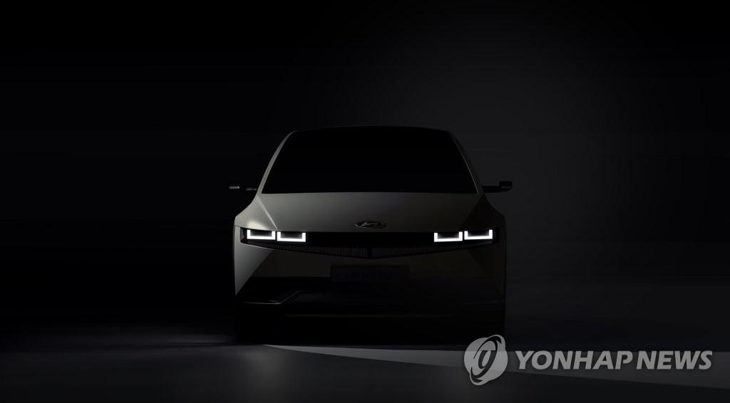 """資料圖片:現代汽車""""IONIQ(艾尼氪)5"""" 現代汽車供圖(圖片嚴禁轉載複製)"""