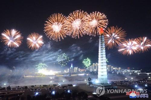 朝鮮八大紀念閱兵式
