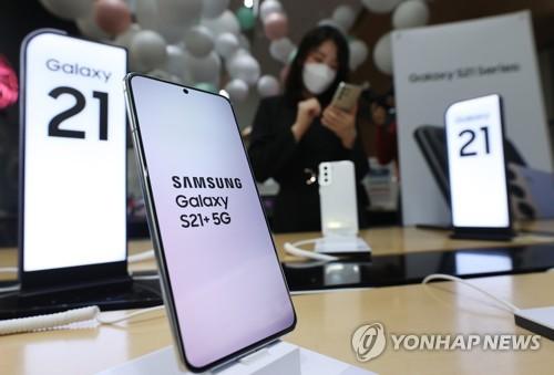 三星Galaxy S21系列在韓銷量破百萬