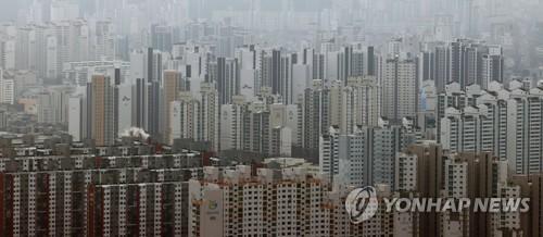 統計:韓去年住宅成交量同比增六成創新高