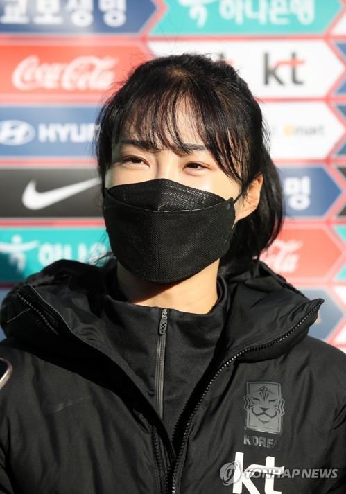 韓女足備戰東京奧運預選附加賽韓中對決