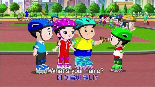 朝鮮製作英語教學動畫片