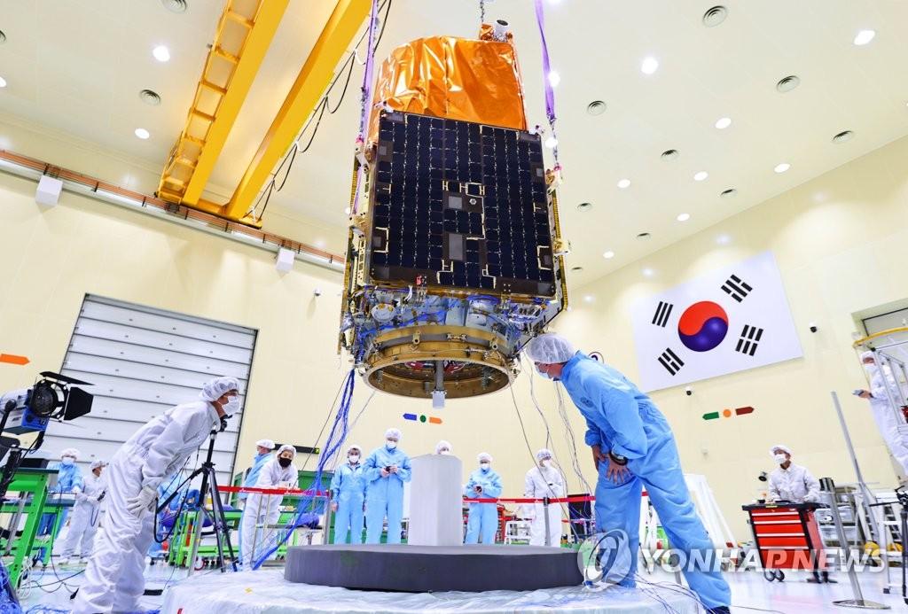 南韓新一代中型衛星1號