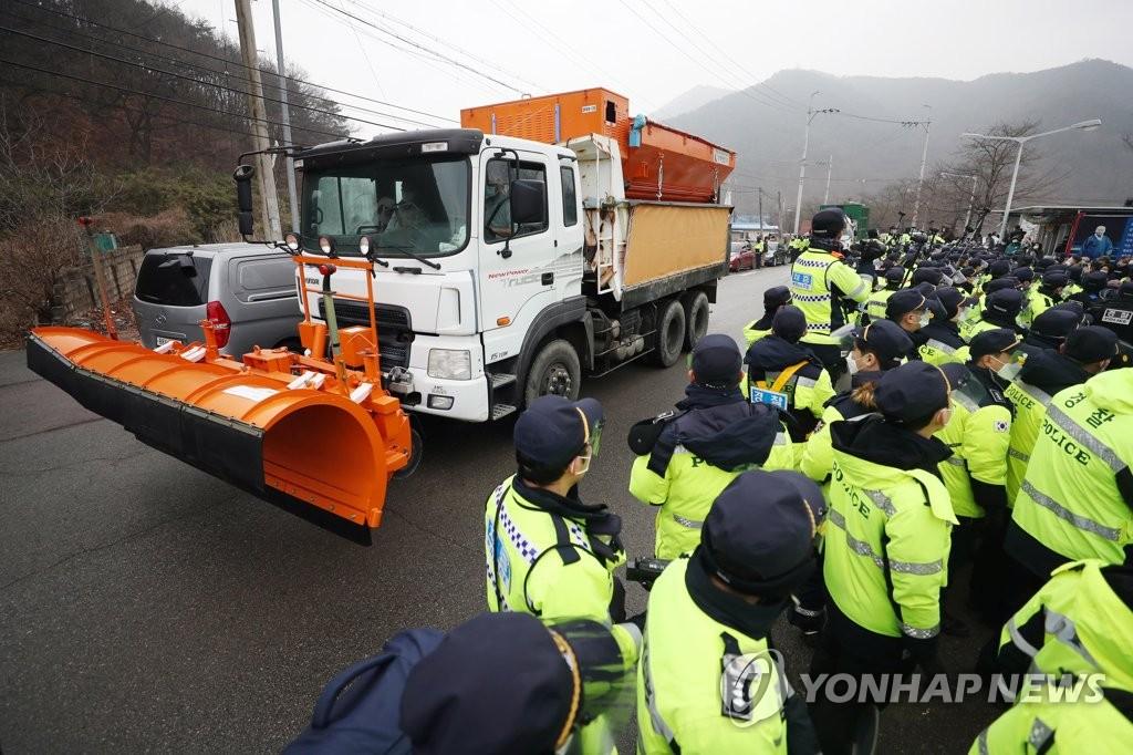 詳訊:南韓防部向薩德基地運入物資