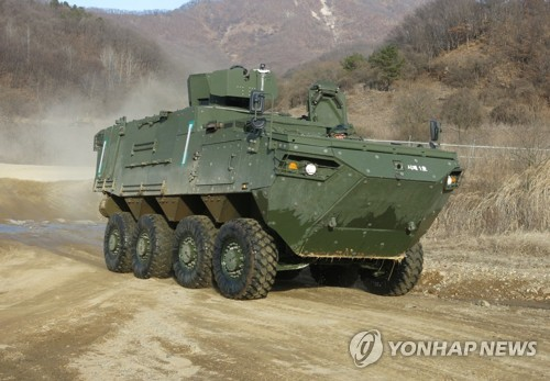 韓成功研發輪式指揮車