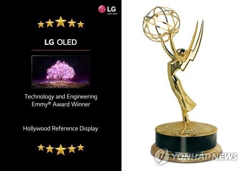 LG OLED電視獲艾美獎