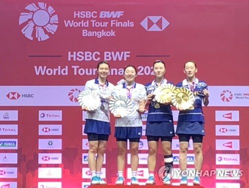 東奧羽毛球女雙四強南韓隊鎖定兩席