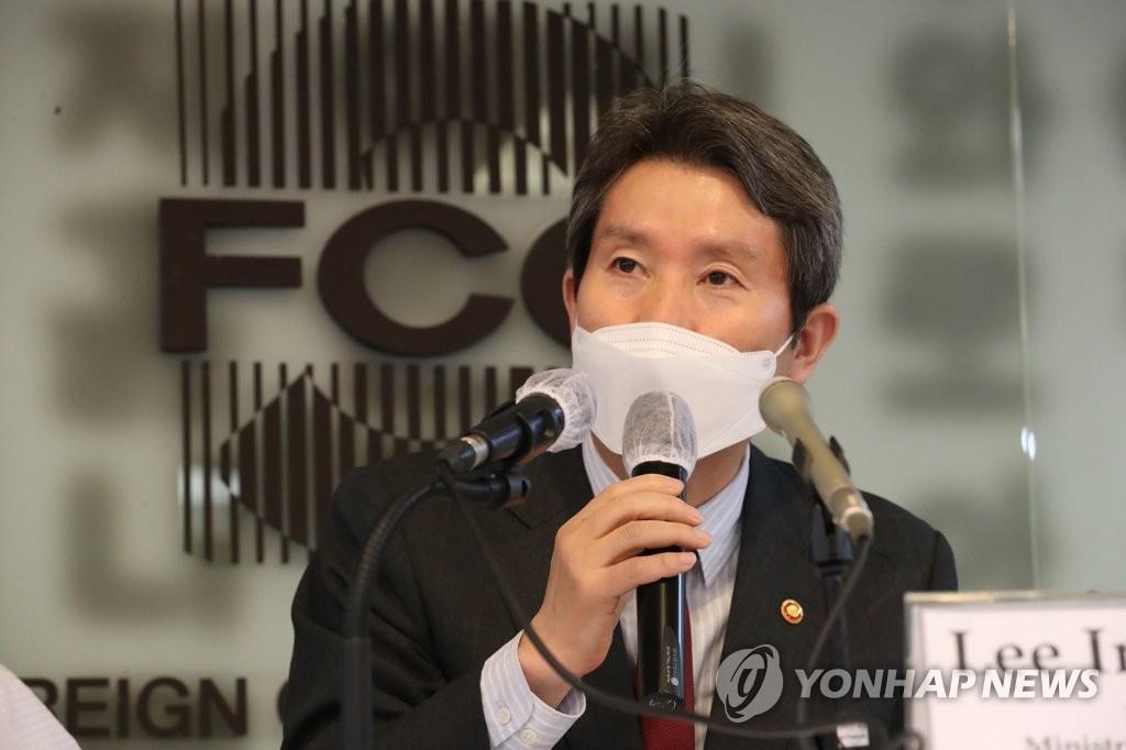 韓統一部長官:放寬對朝制裁可促進無核化談判