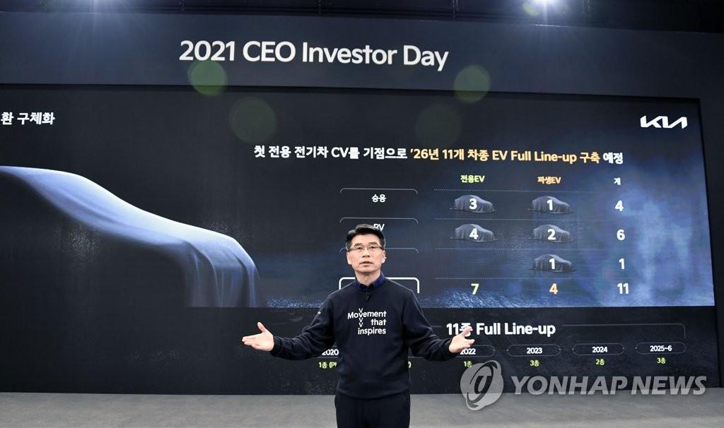 詳訊:起亞線上舉辦投資者日活動公佈未來發展戰略