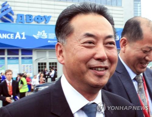 朝鮮駐華大使向習近平遞交國書