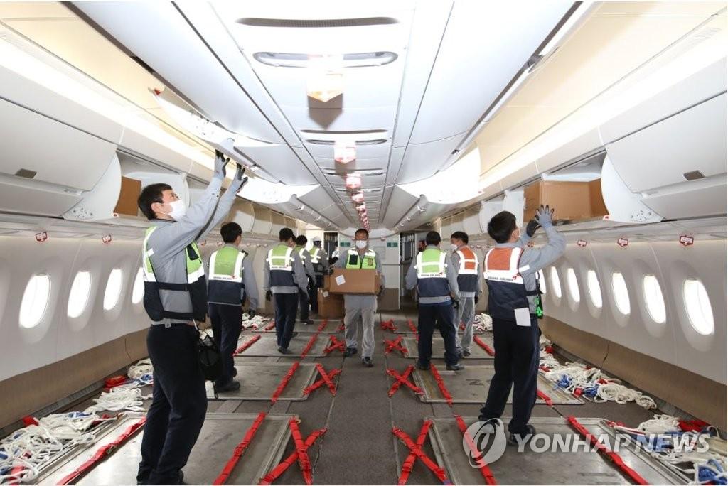 韓亞航空再將兩架客機改裝為貨機