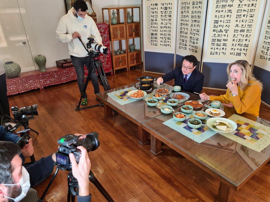 南韓駐土耳其文化院宣傳泡菜