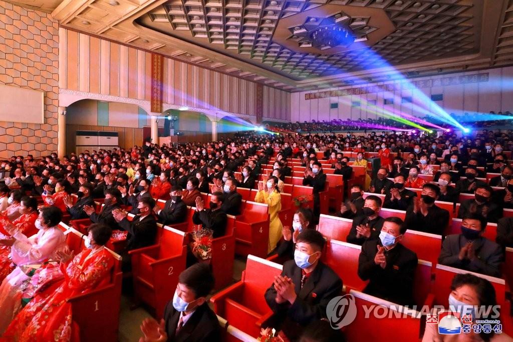 朝鮮舉行文藝比賽迎金日成生日