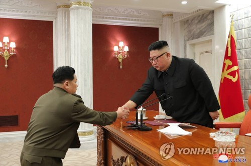 金正恩主持中央軍委擴大會議