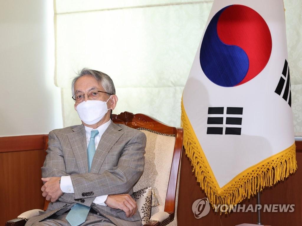 詳訊:日本新任駐韓大使履新會見韓副外長