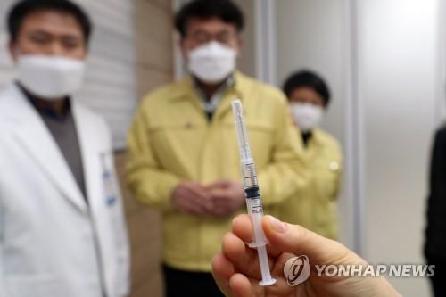 韓防疫部門允許每瓶新冠疫苗的接種人數增加1至2人