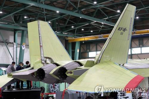 韓新型戰機KF-X試製品
