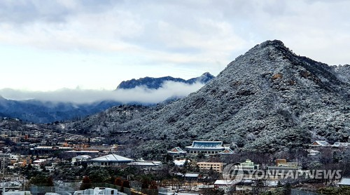 雪後的首爾