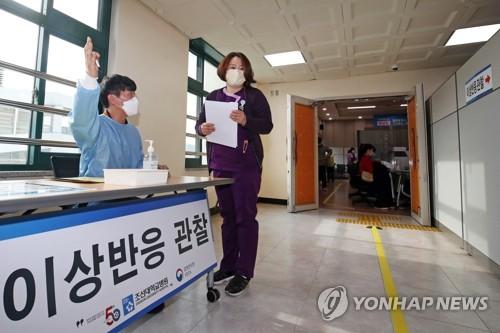 南韓昨報告53起疫苗接種異常反應