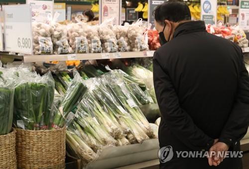 韓1月食品價格同比漲6.5%排名經合組織第4