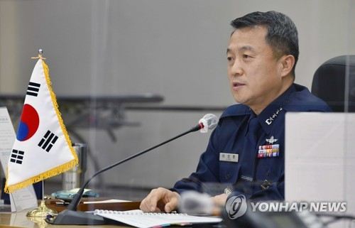文在寅批准空軍參謀長李成龍轉業申請