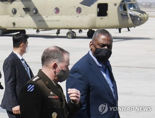 簡訊:美防長稱中朝威脅使韓美同盟空前重要