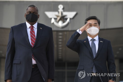 詳訊:美防長稱中朝威脅使韓美同盟空前重要