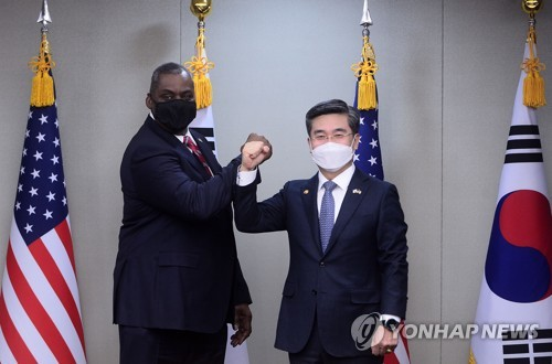 詳訊:韓美防長會晤確認韓美日安全合作重要性