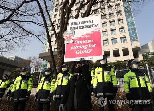 韓外交部:可與四國集團開展疫苗氣候個案合作