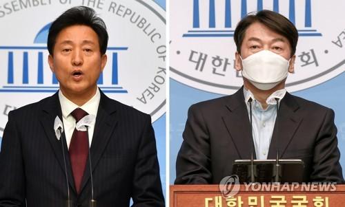 首爾市長補選在野陣營開始合推候選人民調