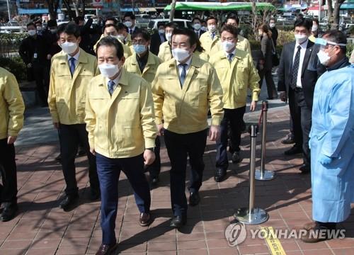 韓總理:應公平細緻展開外國人防疫工作