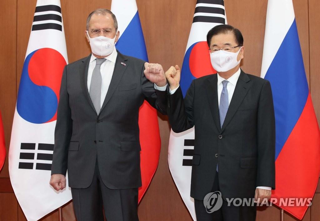 詳訊:韓俄外長會晤商討半島和平
